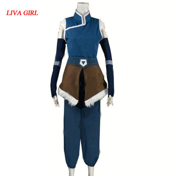 2017 Legend of Korra Cosplay Kostiumų Sezonas 4