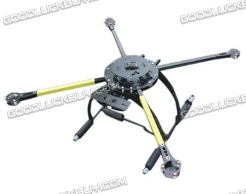 ATG 800mm 4/6-Y4 15mm Rankos FPV Hex/Quad Helicopter Sulankstomas Rėmas Multi-helicopter ping