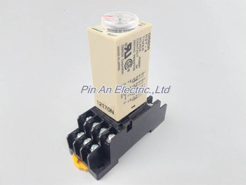 H3Y-4 AC220V 5A 60Sec 60S Omron Laikmatis Relay 4PDT 14 PIN