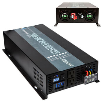 Saulės Inverterių Pure Sine Wave Inverter 12V 220V 4000W Car Power Inverter 12V/24V/48V DC 110V/220V/240V AC Įtampos Keitiklis
